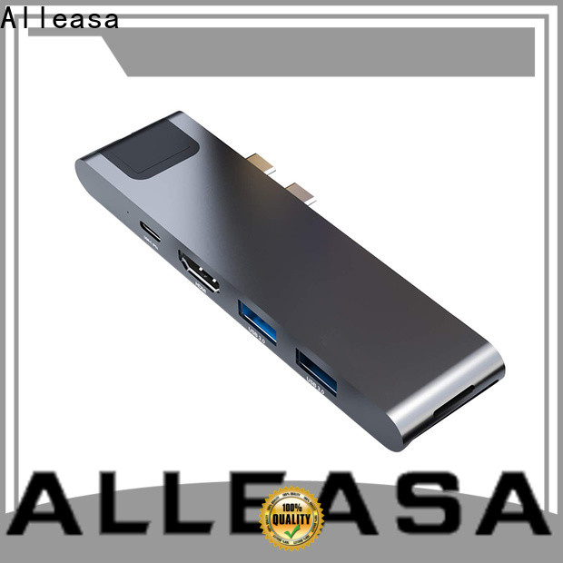Alleasa 7 in 1 USB C HUB satisfying for computer