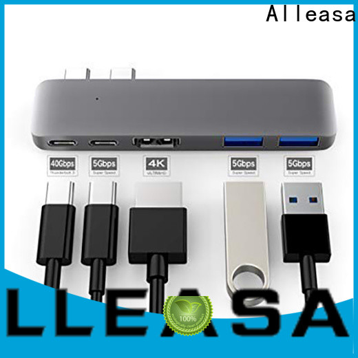 Alleasa 5 in 1 usb c hub optimal for tablets