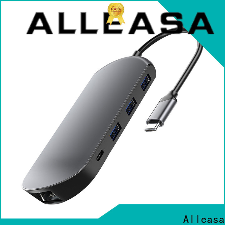 Alleasa usb c port hub best choice for laptops