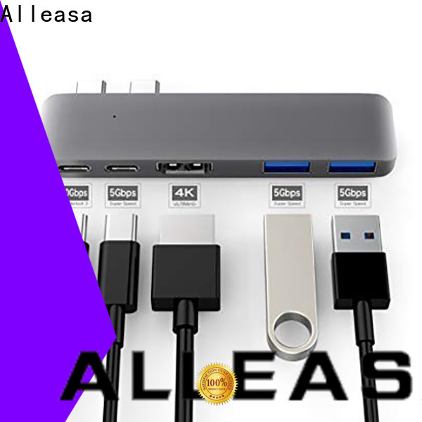 crystal clear 4K resolution 5 in 1 usb c hub satisfying for charging