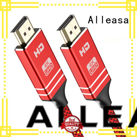 Alleasa twisted veins hdmi cable transmit video signals