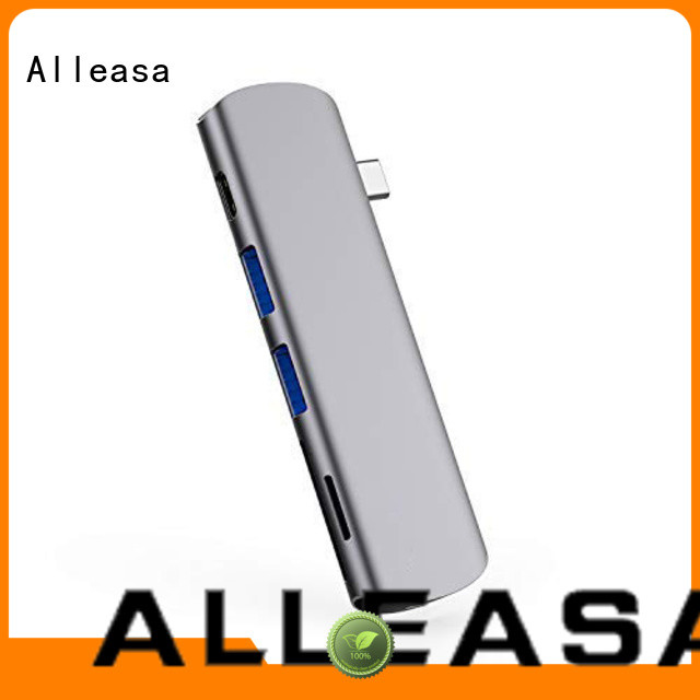 Alleasa 6 in 1 USB C HUB MacBook Pro