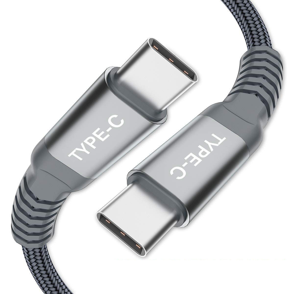 USB C TO USB C Cable-grey