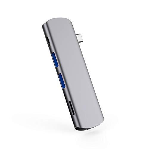 6 in 1 USB C HUB-GN21E