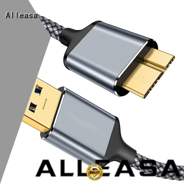 Alleasa tangle free usb cable manufacturers charging