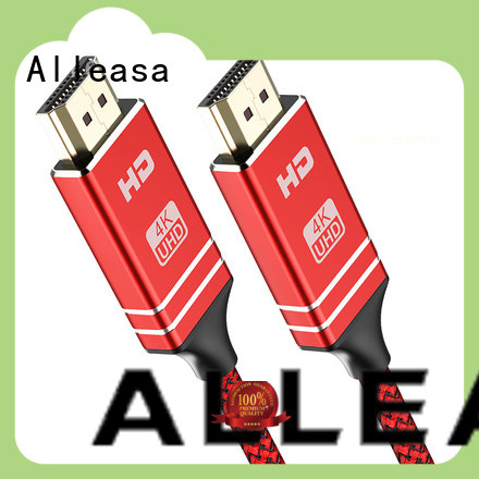 Alleasa high definition hd hdmi cables optimal for transmit audio signals