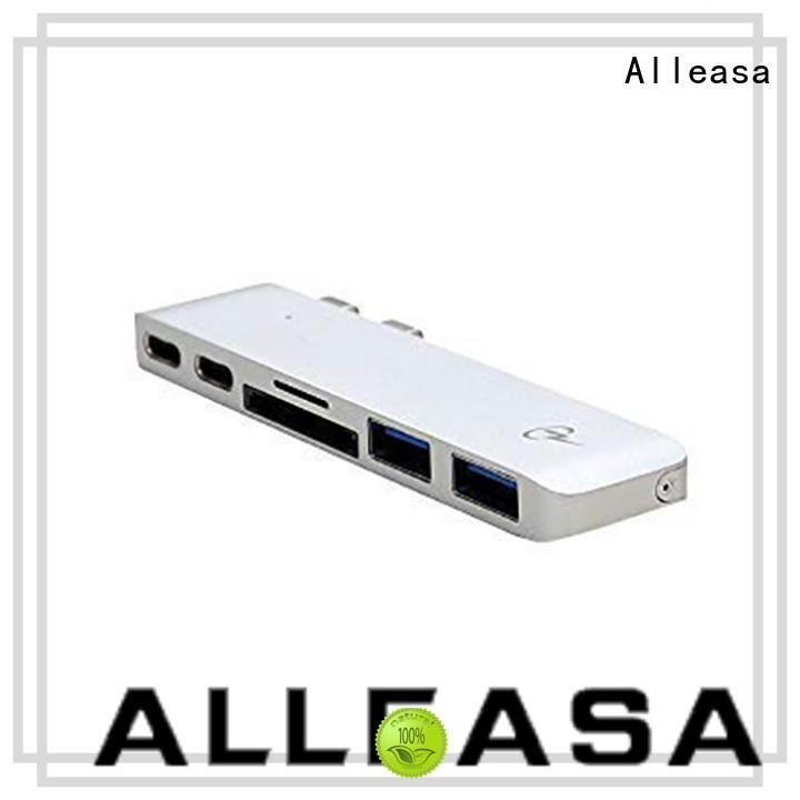 Alleasa multi port best usb c hub very useful for MacBook Pro