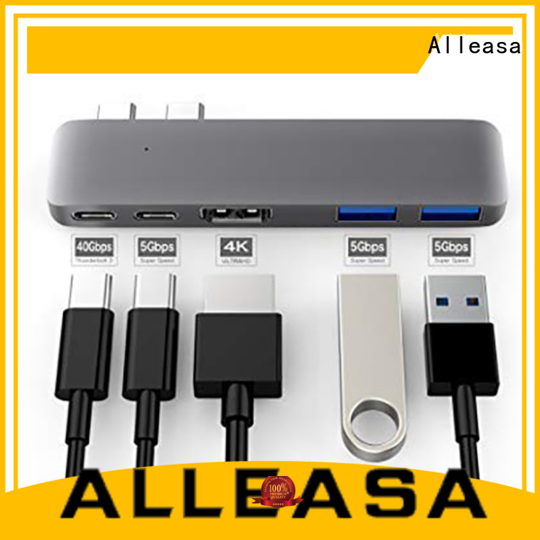 Alleasa safe 5 in 1 usb c hub great for charging