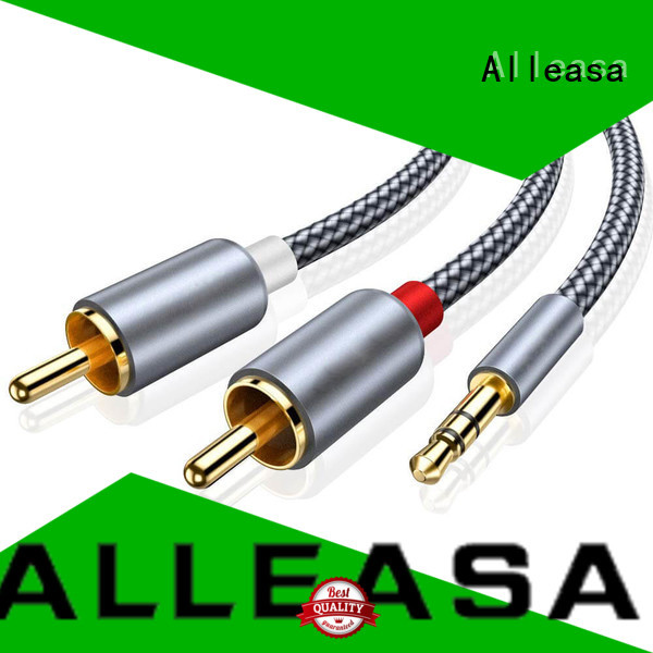 Alleasa RCA cables perfect for audio devices