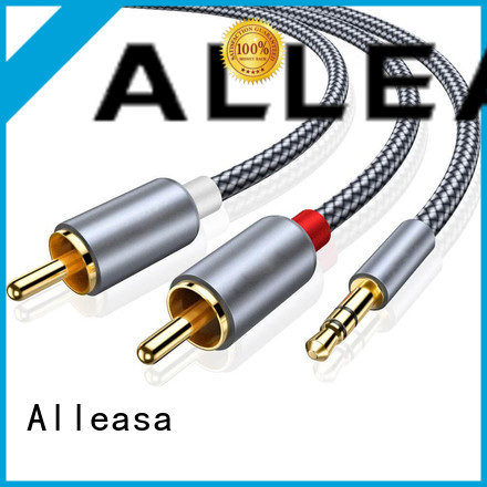 Bi-Directional RCA cables optimal for transmit video signals