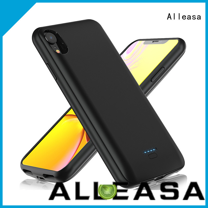 Alleasa battery case for iphone smart phones charging