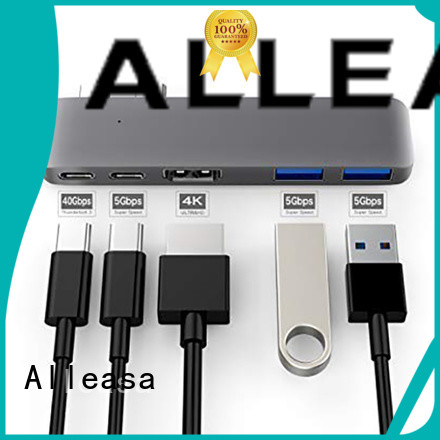 Alleasa 5 in 1 usb c hub satisfying for electronic products