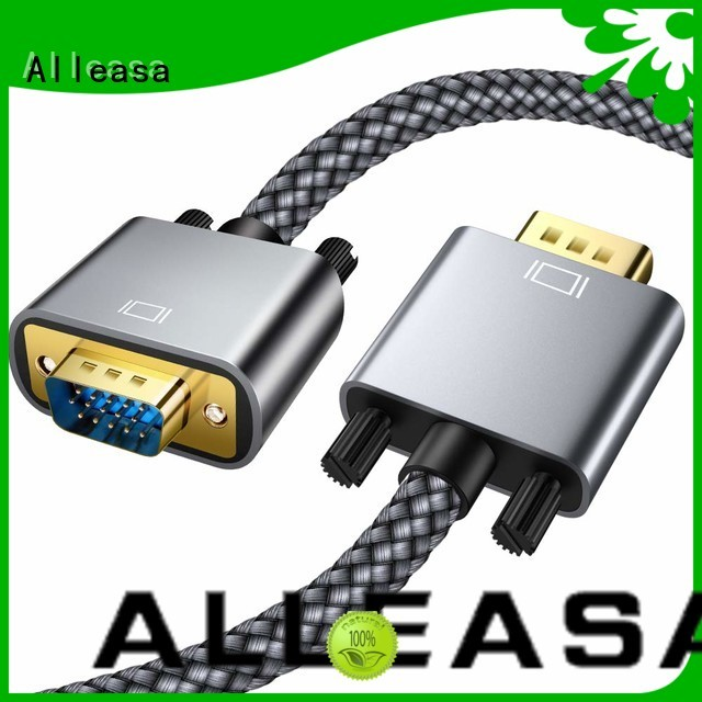 Alleasa VGA cables ideal for connect computer to monitor