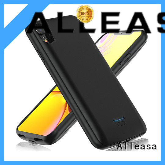 Alleasa portable battery case widely applied for smart phones charging