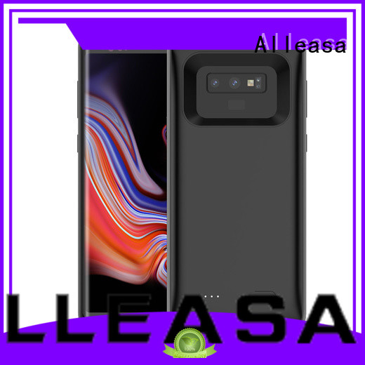 Alleasa compact battery case for iphone widely employed for charging phones