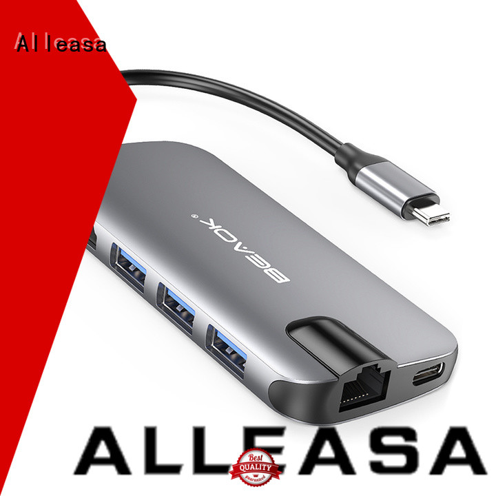 Alleasa usb-c hub popular for laptops