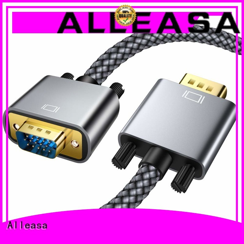 Alleasa cable vga suitable for carry visual display data from CPU to monitor