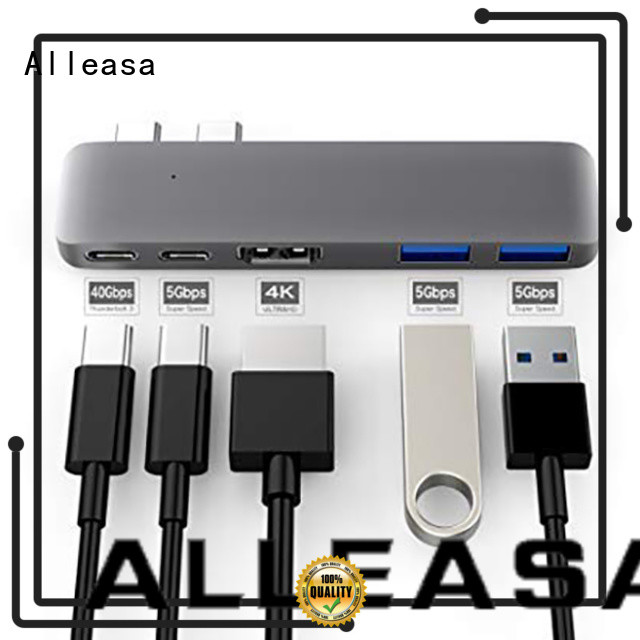 Alleasa fast 5 in 1 usb c hub great for laptops