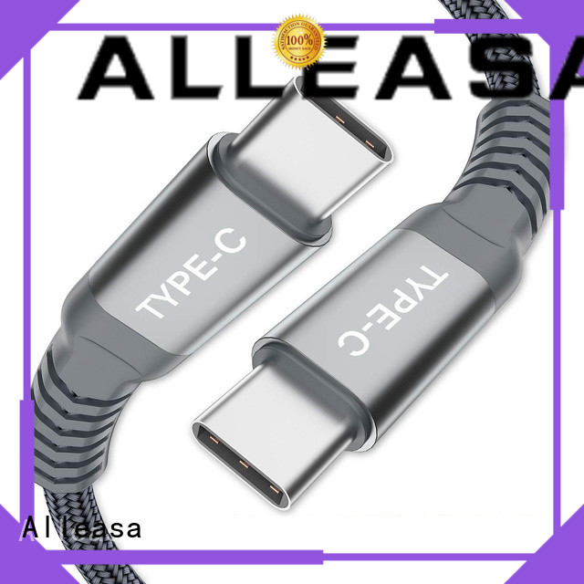 Alleasa type c to type c cable